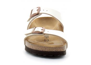 birkenstock sydney birko-flor® pearl-white bk1016171 75,00€