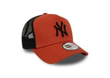 casquette trucker new york yankees orange 28,00€