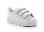 adidas superstar blanc-neon fv3657