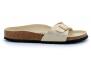 birkenstock madrid eggshell-gold bk1018543 femme-chaussures-mules-sabots
