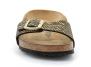 birkenstock madrid black-gold bk1018666 femme-chaussures-mules-sabots