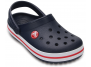 crocs classic log kids navy 204537-485
