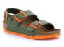 birkenstock milano junior green-orange bk1019473