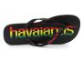 havaianas top logomania black/black 4144264.7652