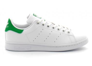 stan smith j vegan blanc-vert fx7519 70,00€