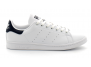 adidas stan smith vegan blanc-bleu fx5501/m20325 baskets