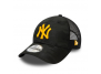 casquette new era 9forty new york yankess noir osfm accessoires-casquette